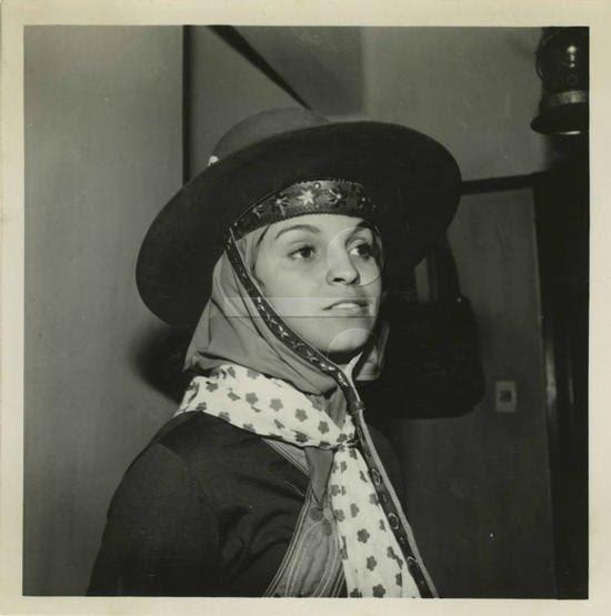 """Leila Diniz como a cangaceira Dadá. Filme """"Corisco, o diabo loiro"""", 1969"""